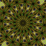 Garden kaleidoscope Stock Photos