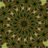 Garden kaleidoscope stock photos