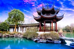 Chinese garden King Royalty Free Stock Images
