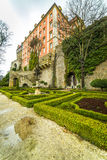 Garden in Ksiaz Castle. Poland Royalty Free Stock Photography