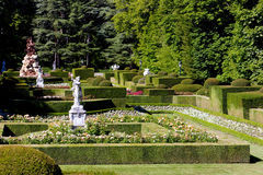 Garden of La Granja de San Ildefonso Royalty Free Stock Photo