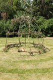Garden Labyrinth. Stock Photo