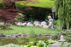 Garden lake Royalty Free Stock Photos