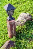 Garden lamp Royalty Free Stock Images