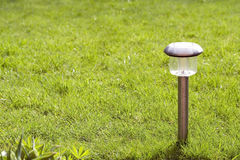 Garden lamp Stock Images