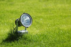 Garden lamp Stock Image