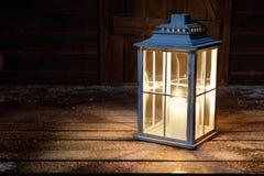 Garden lamp stock photography