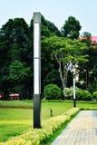 Garden lamp royalty free stock photography