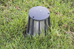 Garden lamp to light the way Stock Photography