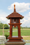 Garden lamp Stock Images