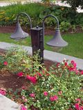Garden lamps Stock Photos