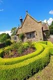 Garden landscaping stock photo