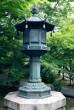 A garden lantern. In Kyoto stock images