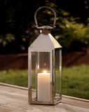 Garden lantern Stock Photography