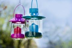 Garden lantern Royalty Free Stock Image