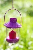 Garden lantern Stock Photo