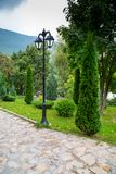 Garden lantern Stock Images