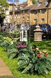 Garden lanterns, Chipping Campden. Stock Image