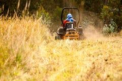 Garden Lawn Tractor Royalty Free Stock Photos