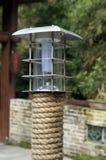 Garden light. With hemp cordage Stock Image