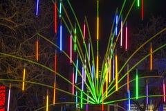 Garden of Light - Lumiere London Stock Photography