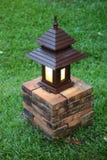 Garden light. Thai style garden light in the home garden Royalty Free Stock Photography