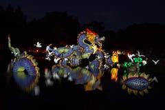 Garden of Lights Stock Photos