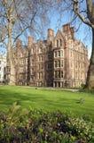 Garden of Lincolns Inn, Inns of Court. London royalty free stock photo