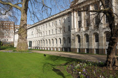 Garden of Lincolns Inn, Inns of Court. London stock image