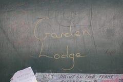 Garden lodge. Freddie Mercury home Stock Photos
