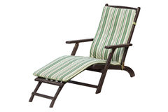 Garden-lounger Royalty Free Stock Images