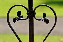 Garden loveheart stock images