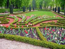 Garden in Luxembourg royalty free stock images