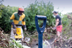 Garden Maintenance Stock Photography