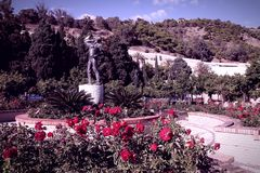 Garden in Malaga Stock Images