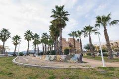 Garden. Garden of Marina Dor (Oropesa del Mar, Castellon stock images