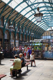 Garden market, one of the main tourist attractions in London Royalty Free Stock Photos