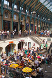 Garden market, one of the main tourist attractions in London Stock Image