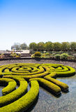 Garden Maze Royalty Free Stock Photo