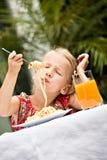 Garden meal Stock Photos