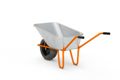 Garden metal wheelbarrow cart Royalty Free Stock Image