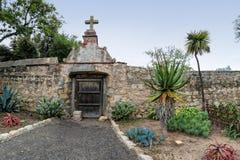 Garden, Mission Santa Barbara Stock Image