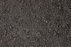 Garden moist top soil background Royalty Free Stock Images