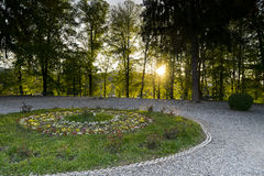Garden Monastery Curtea de Arges Royalty Free Stock Photo