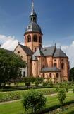 Garden of Monastery Seligenstadt Royalty Free Stock Image