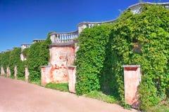 Garden of Monplaisir palace. Peterhof. Royalty Free Stock Photos
