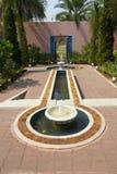 Garden in moroccan style Stock Photos