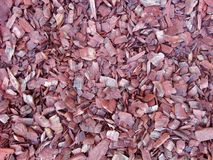 Garden mulch royalty free stock images