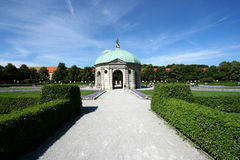 Garden in Munich Royalty Free Stock Images