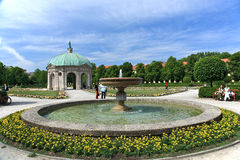 Garden in Munich.Germany Stock Photography